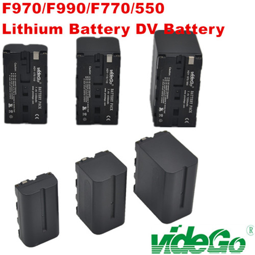 videGo DV Battery F990/F770/F750/D54 V-mount Battery /Gold Mount Battery /broadcast camera Battery