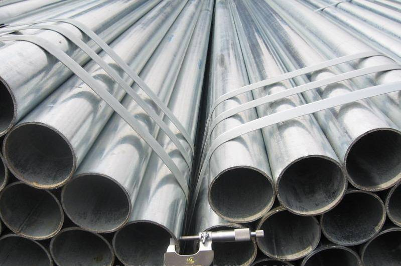 Hot Dipped Galvanized Steel Tube (ASTM A53 Gr A/B)