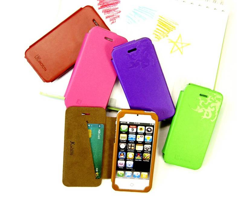 Flip Case Cover For iphone 5/5s case in jacklyn case