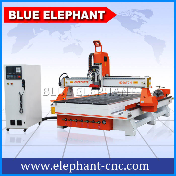 Atc cnc router machine for door, carbinet making