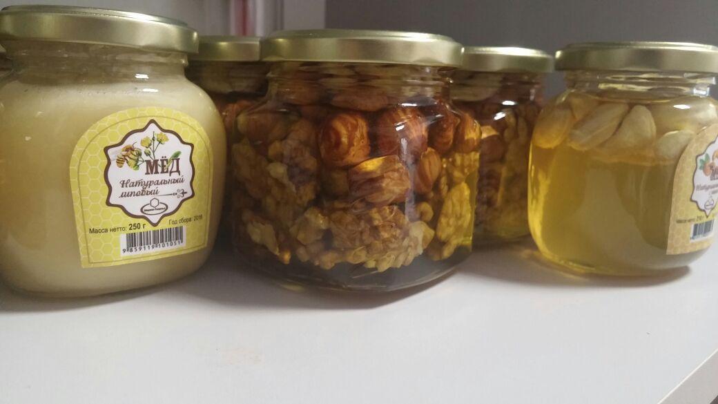 Wild honey from Russia