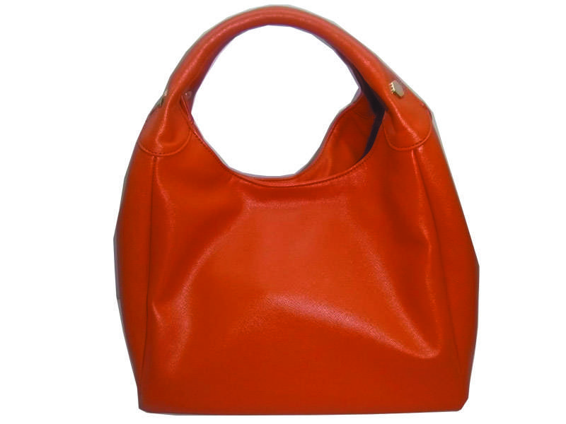 coffe color top faux leather trendy tote bags