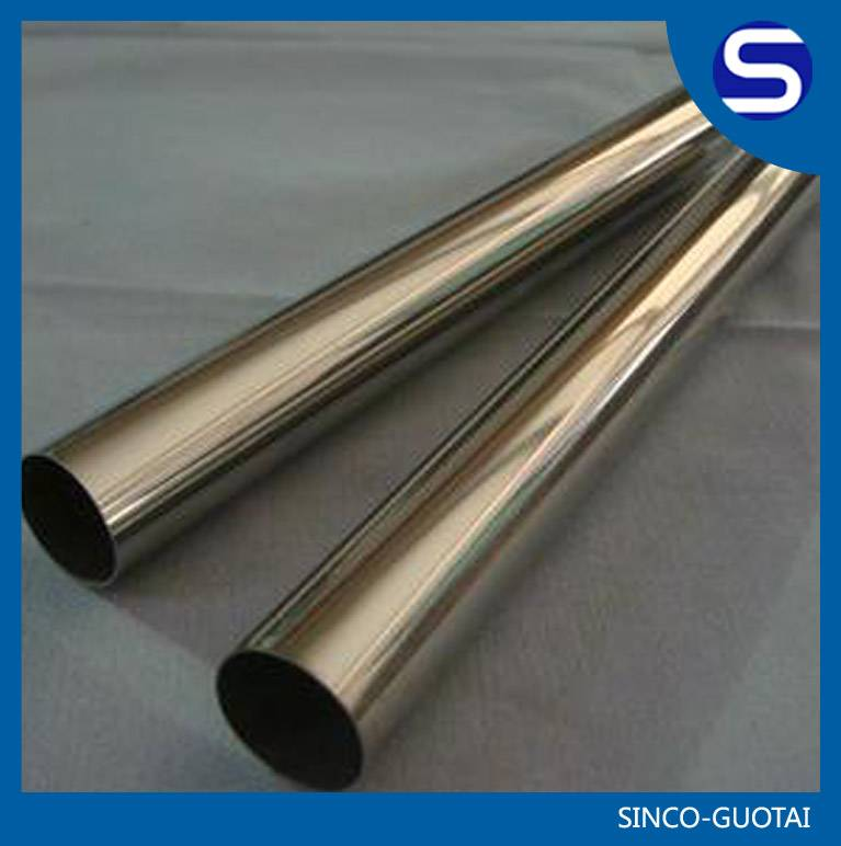304/316 stainless steel exhaust tubing