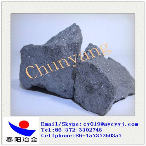 Calcium silicon Barium Alloy / SiCaBa deoxidizer with varied grain sizes