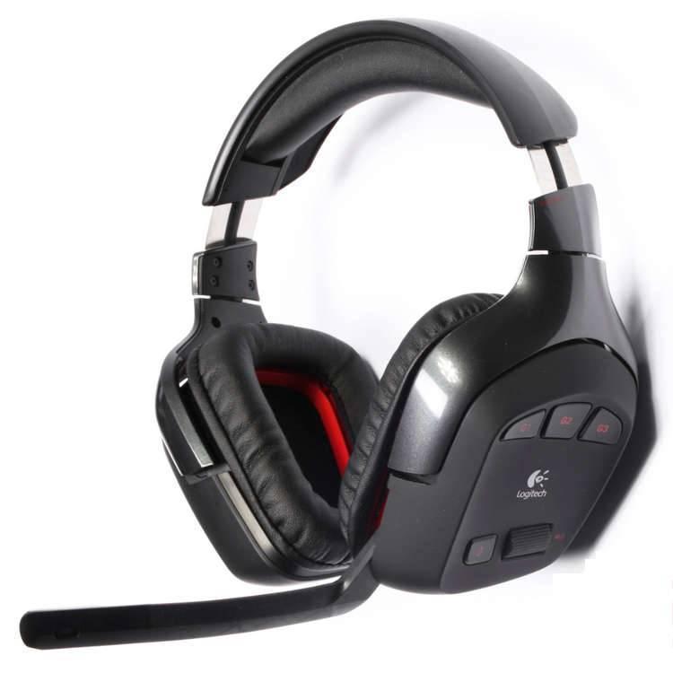 Logitech G930 Wireless Gaming Headset Headphone