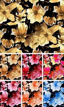 Sell Rayon Dyed/Printed Fabrics
