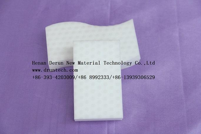 Compressed melamine sponge magic eraser foam
