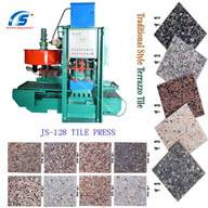 JS-400 terrazzo tile forming machine