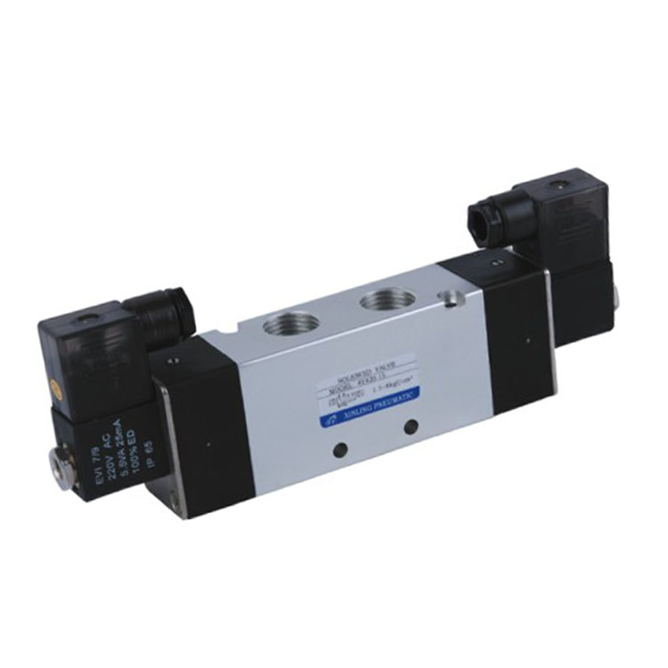 5/2 Way Pneumatic Alloy Small Micro Solenoid Valve 4V420-15