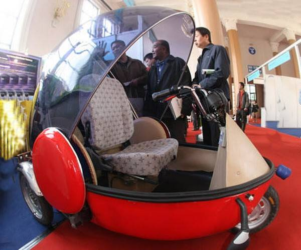 Electric Mini Tricycle