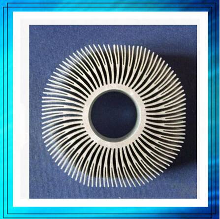 6063-T5 aluminium heat sink for power amplifier
