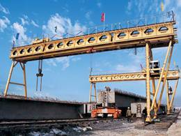 honeycomb-girder gantry crane
