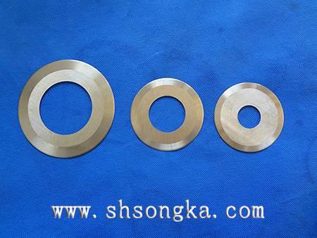 High speed steel tire rubber cutting blade, rubber cutting of high speed steel toothed circular blad