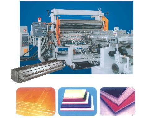 PET/ PE/ PP/ PS sheet extrusion line