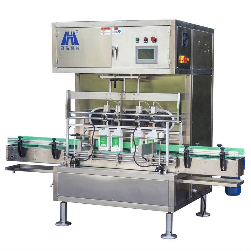 4 Heads Volumetric Filling Machine or Car oil