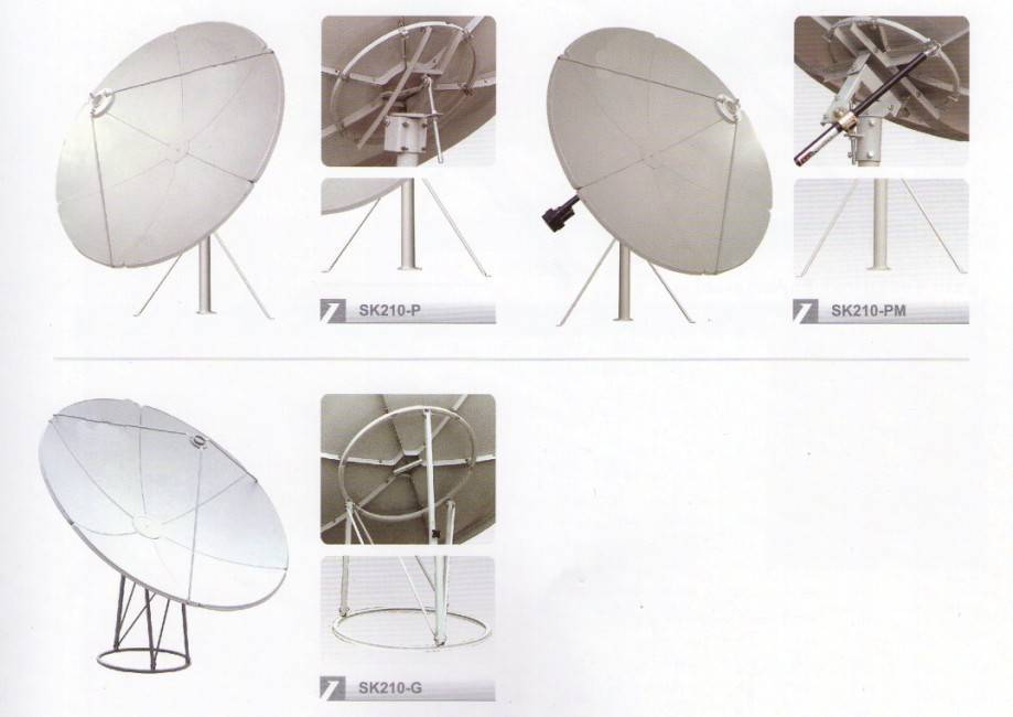 Sell 210CM C-Band Dish Antenna