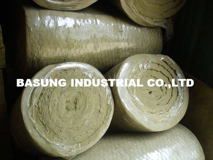 rockwool blanket with wire mesh