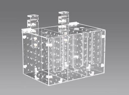 Dismantle Acrylic Quarantine Case,RM-3B