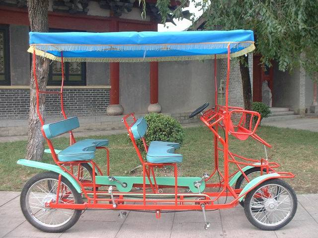 4 seats bikes for SightSeeing