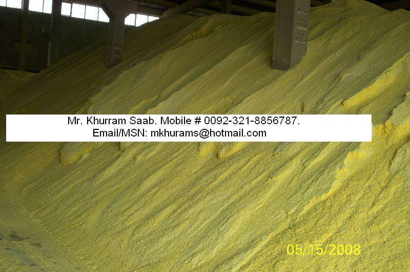 Sulphur Lump & Sulphur Granular are Available.