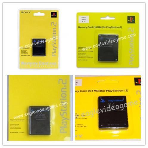 PS2 8MB/16MB/32MB/64MB Memory Card for PS2 PLAYSTATION2