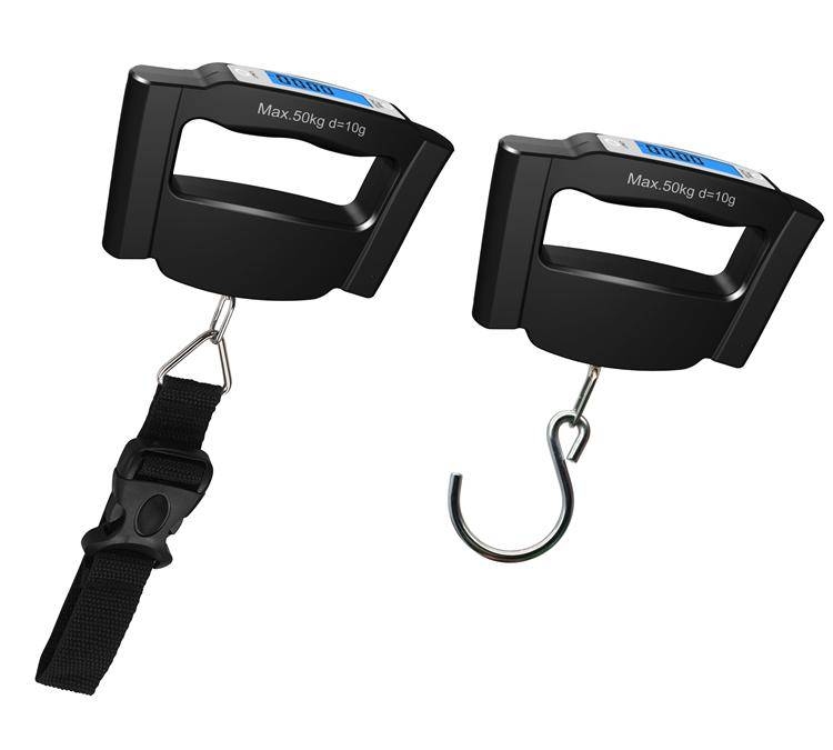 50kg Blue LCD Portable Digital Luggage Scale VDS602