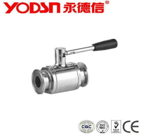 Stainless Steel Dairy Food Grade Sanitary ball valve Supplier's