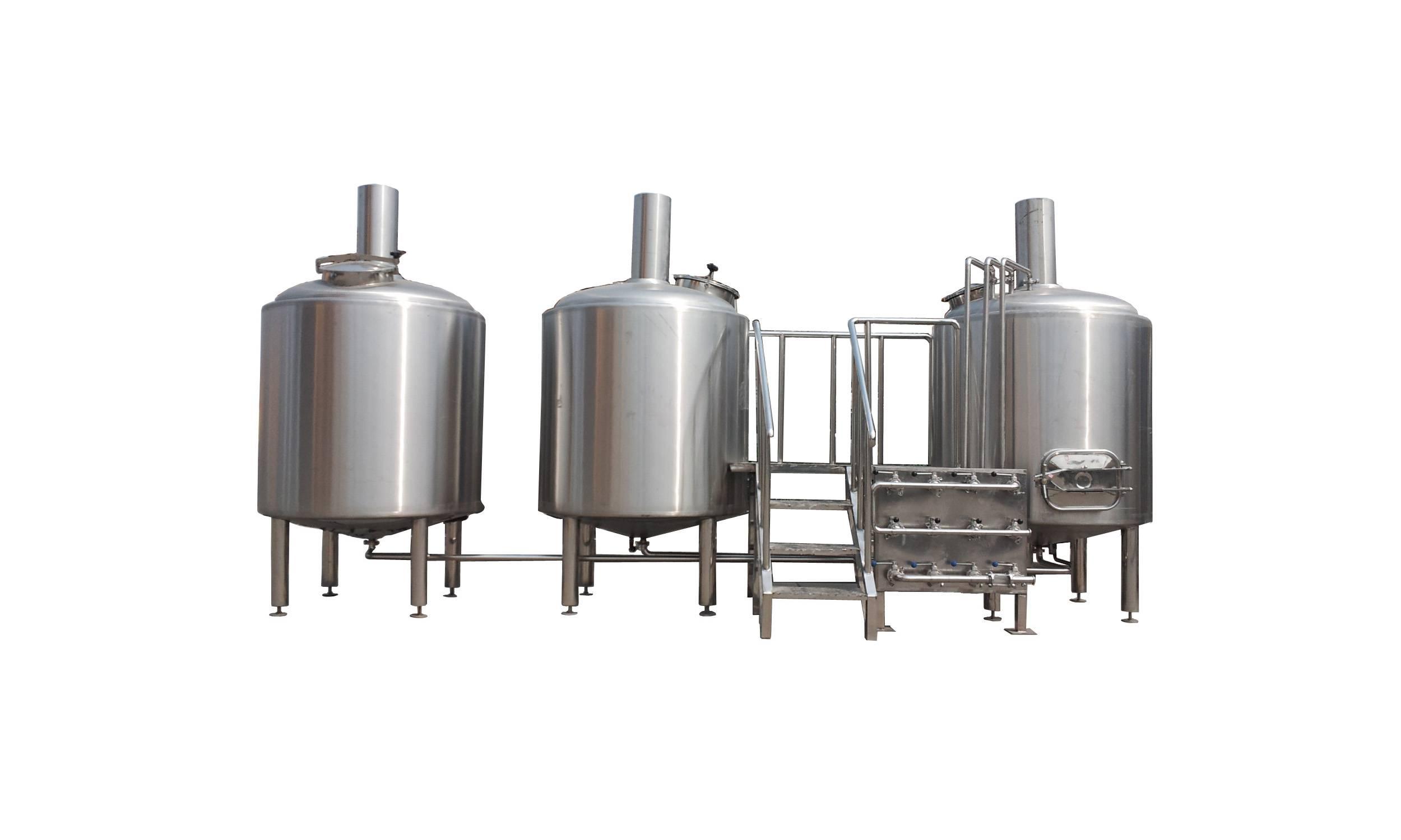 beer producing equipment
