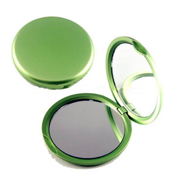 Pocket Mirrors, Round Shape Double Sides Plastic Made, Grade A+