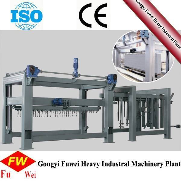 Ground Tilting Cutting Machine for AAC Production Line