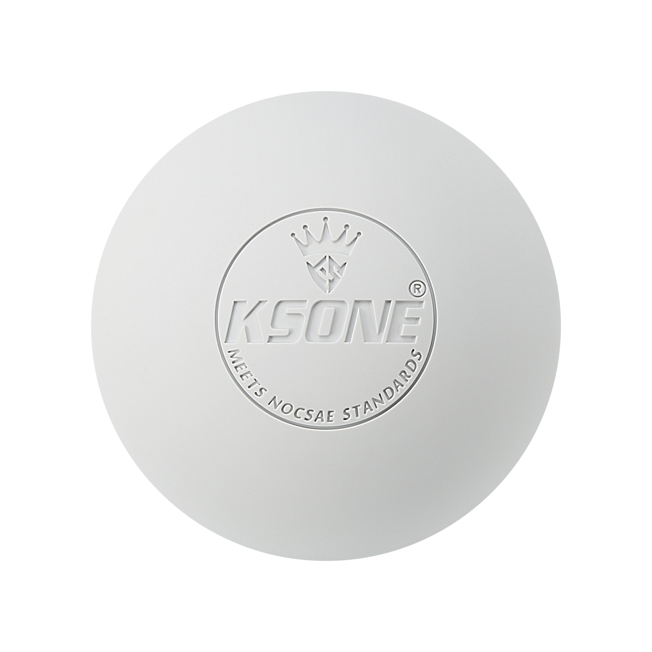 Custom Logo Wholesale Rubber Official College High School Game Lacrosse Ball