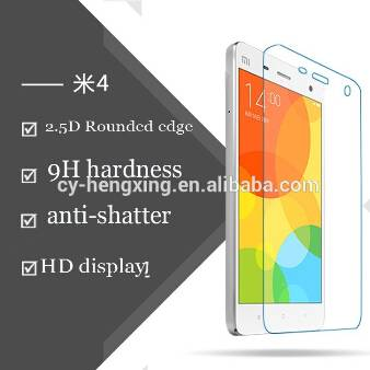 Tempered glass scrtempered glass screen protector for mobile phone 2.5D round edge anti-fingerprint