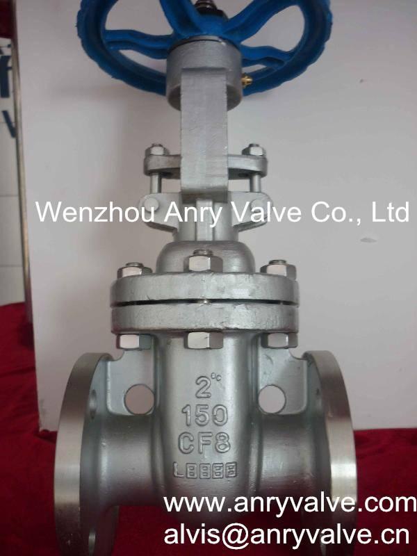 API stainless steel gate valve