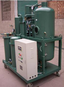 double-stage vacuum transformer oil purification machine