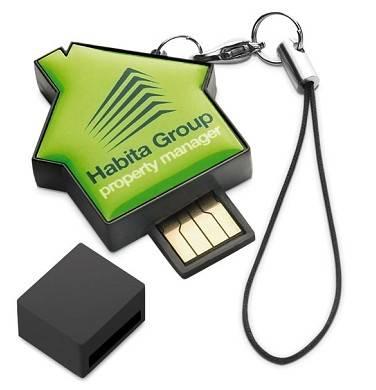 mini house usb flash disk
