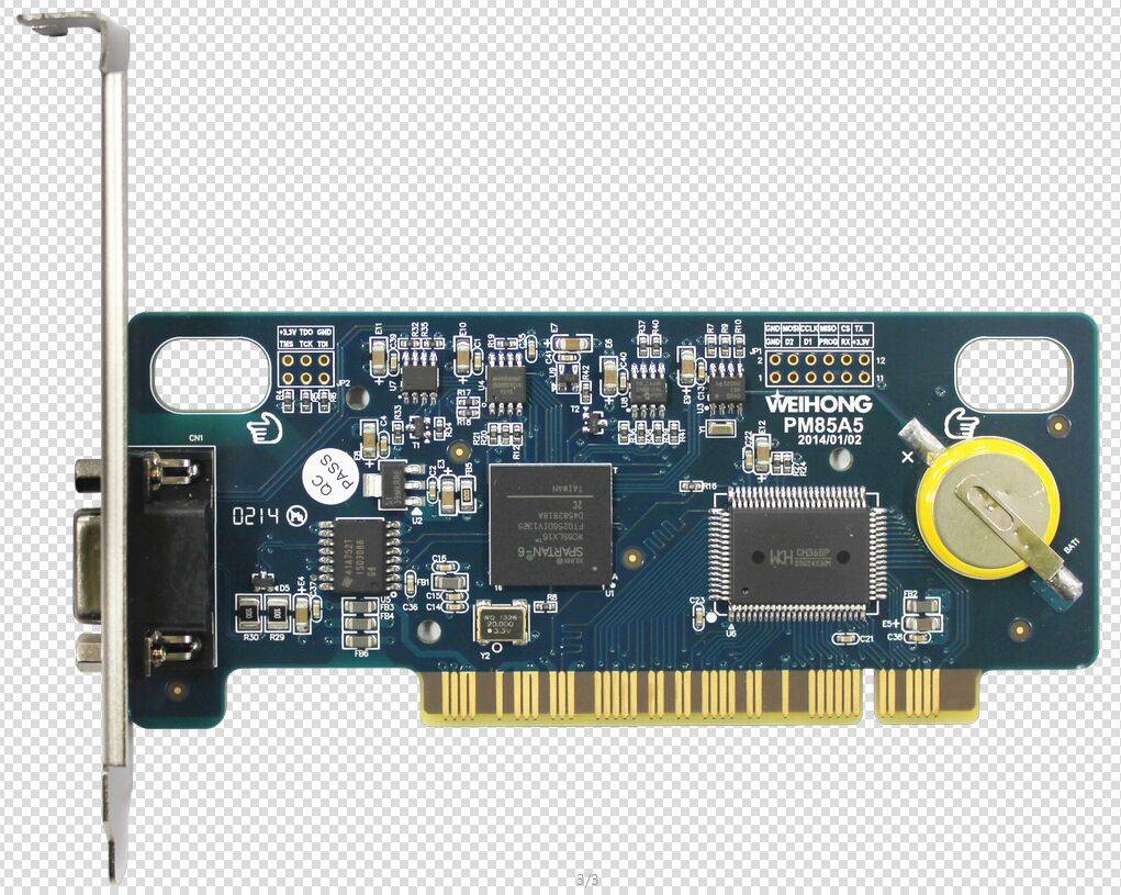 WEIHONG PM85A PCI control card for 4/5 axes router and waterjet cutting machine