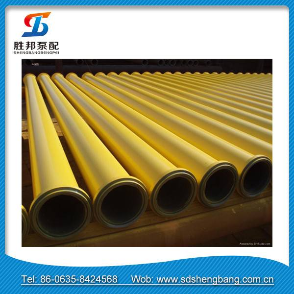 St52 concrete trailer pump pipe/St52 concrete pump conveying pipe/concrete pump spare parts delivery