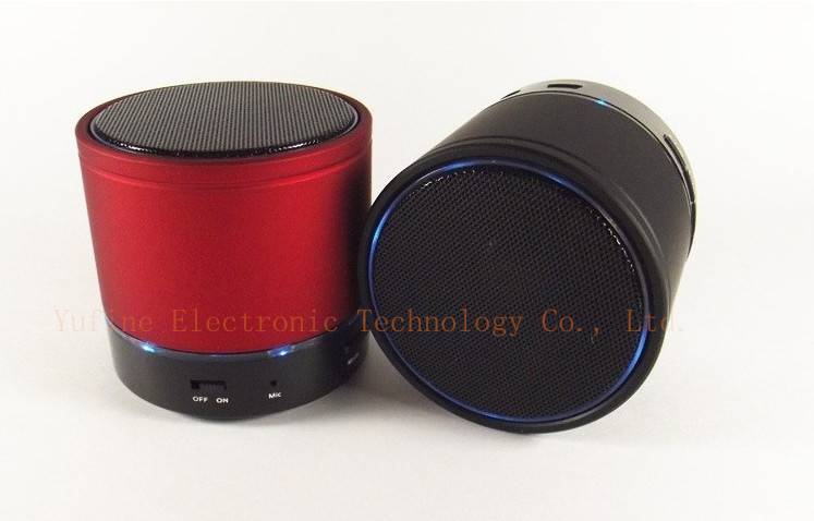Supply LED light Bluetooth speaker, S08 wireless Bluetooth speaker, hot selling mini Bluetooth speak