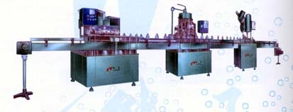 1500-2400 bottle/hour water filling machine line