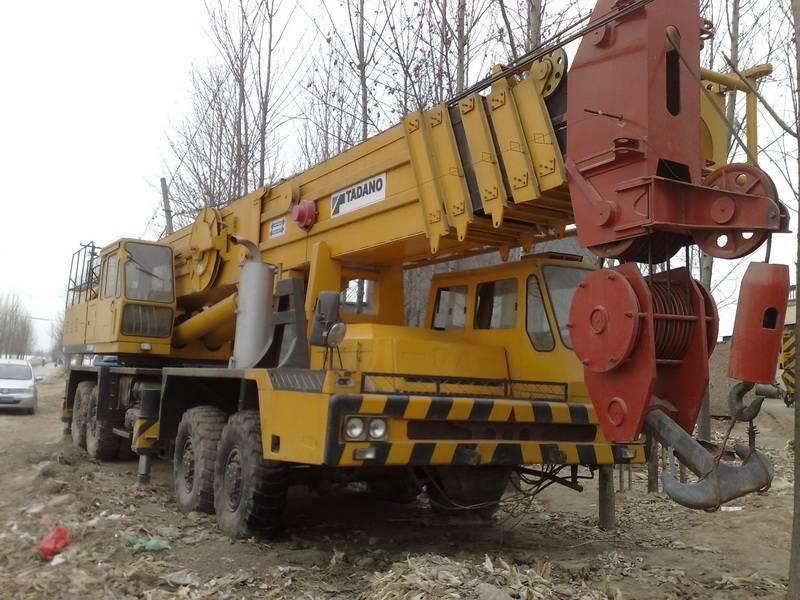 Sell Japan made TADANO TG1600E/TG1600M mobile truck crane used tadano 160ton crane TEL:+861381825943