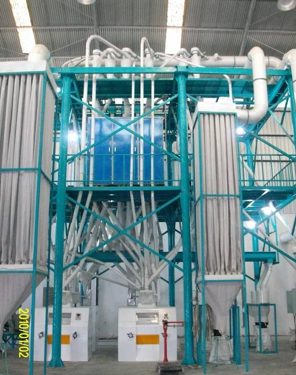 compact flour machine for wheat ,maize and corn