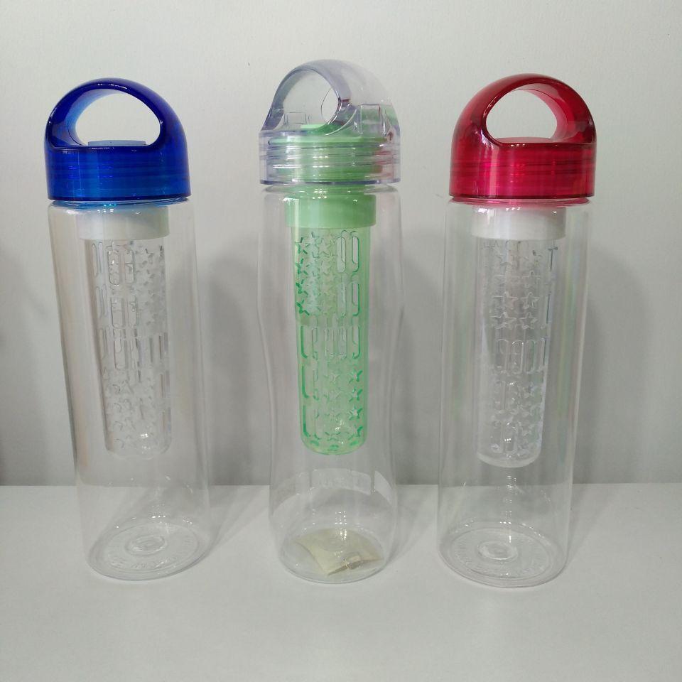 juice bottle with ice stick