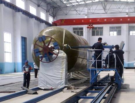 FRP filament winding machine