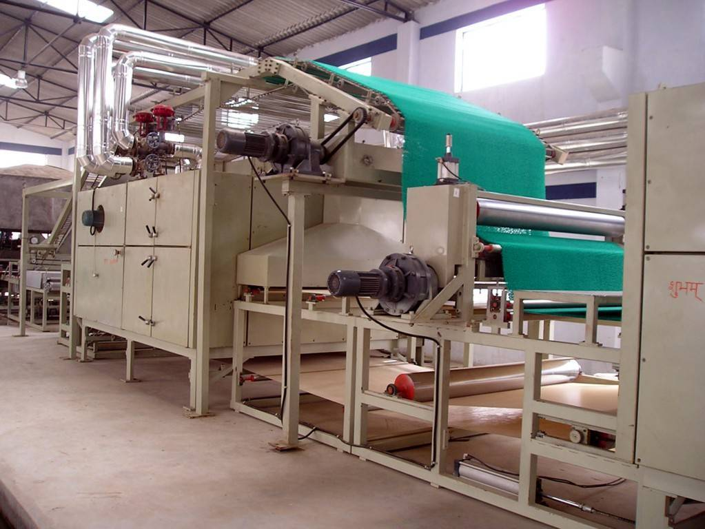 PVC floor mat production line