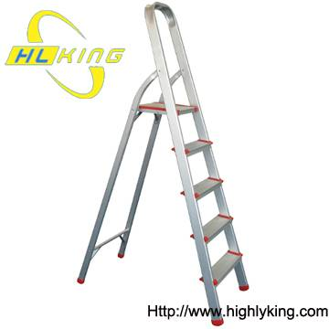 Aluminium foldable household step ladder(HH-105)