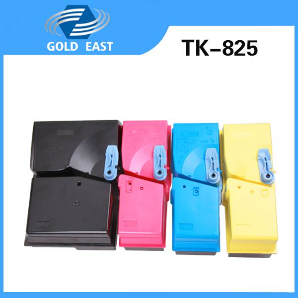 TK-825K/M/Y/C Kyocera toner cartridge for Kyocera FS-C2520/C2525/3225/C3232