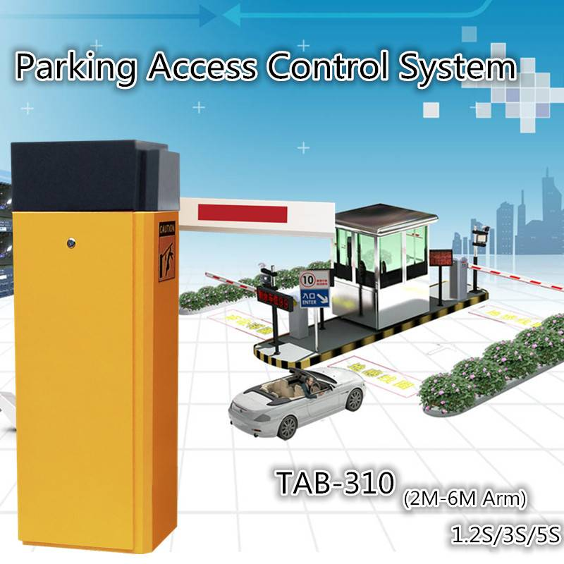Automated Car Park Barrier Gate Operator RFID Card Reader For Access Control