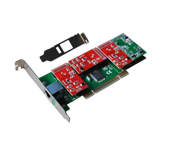 Newest asterisk 4 single fxo/fxs pci analog card