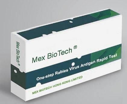 One Step Accurate Rabies Virus Antigen Test