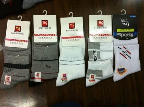 100% cotton men custom dress socks sport socks dress cotton socks